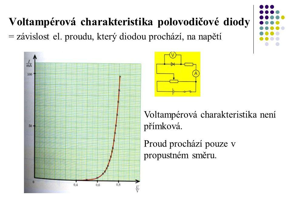 Voltampérová charakteristika polovodičové diody