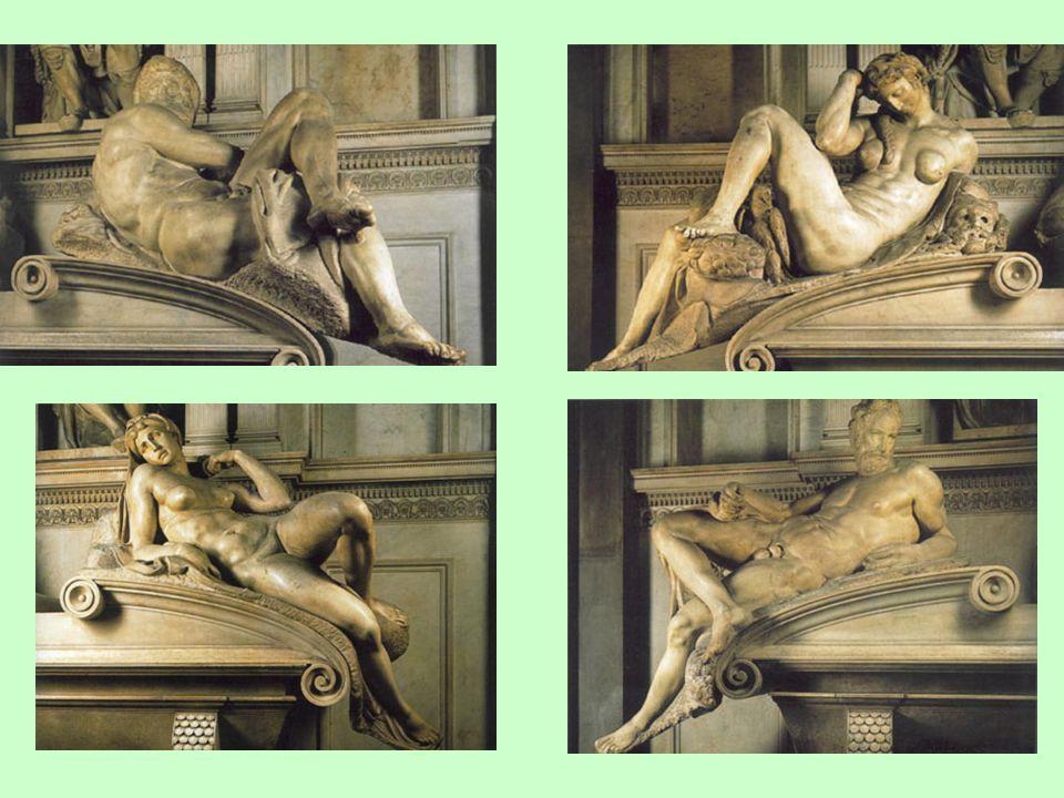 Medicejské náhrobky: pozdní tvorba (manýrismus)