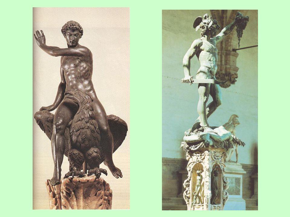 Benvenuto Cellini (1500-1571): Gannymedes; Perseus