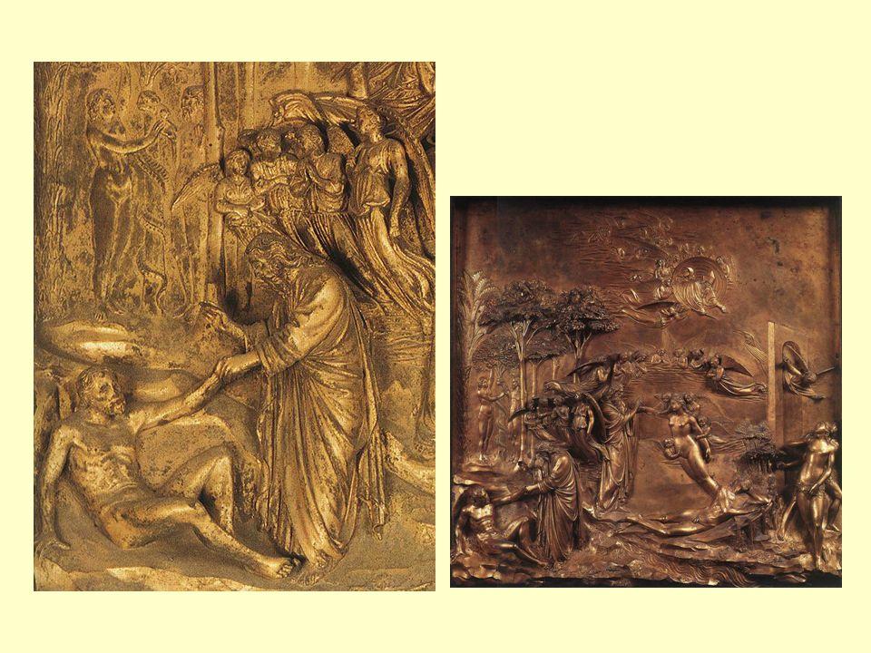 Lorenzo Ghiberti: Detaily z Rajské brány