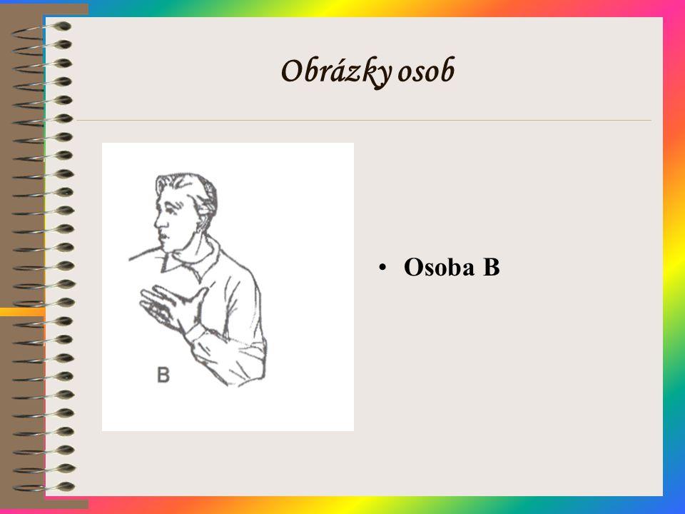 Obrázky osob Osoba B