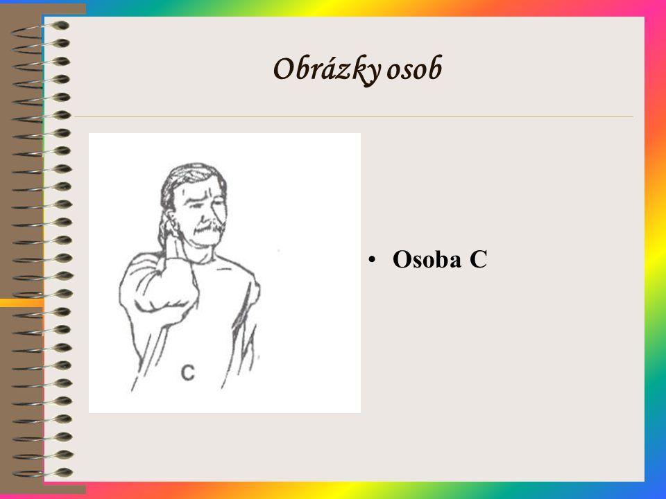 Obrázky osob Osoba C
