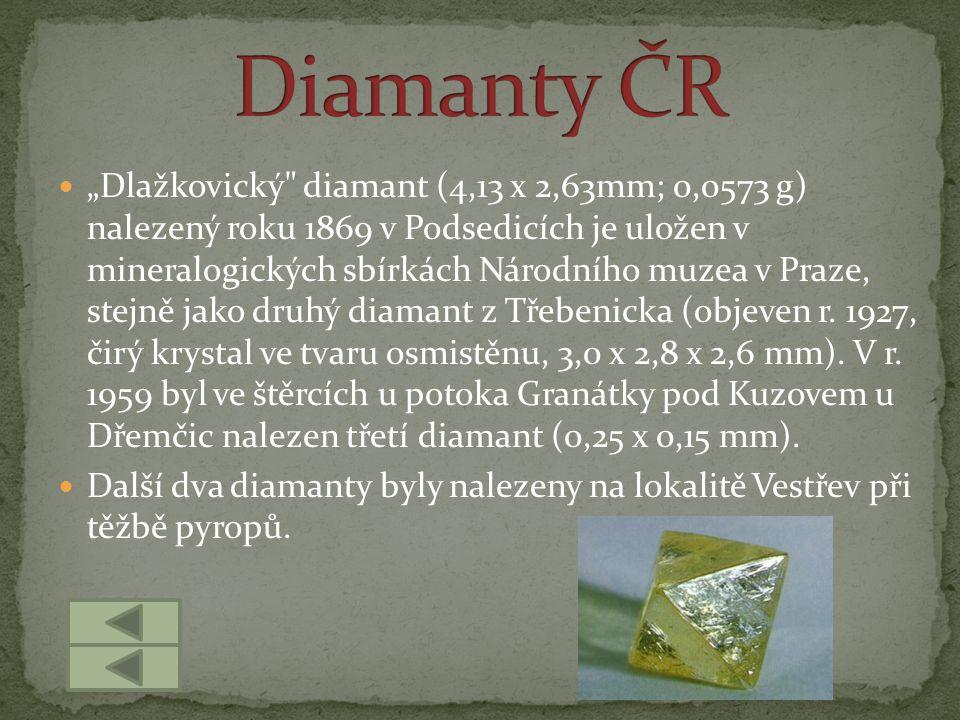 Diamanty ČR