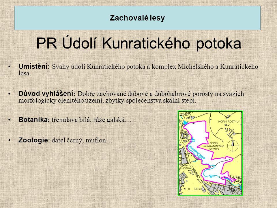PR Údolí Kunratického potoka