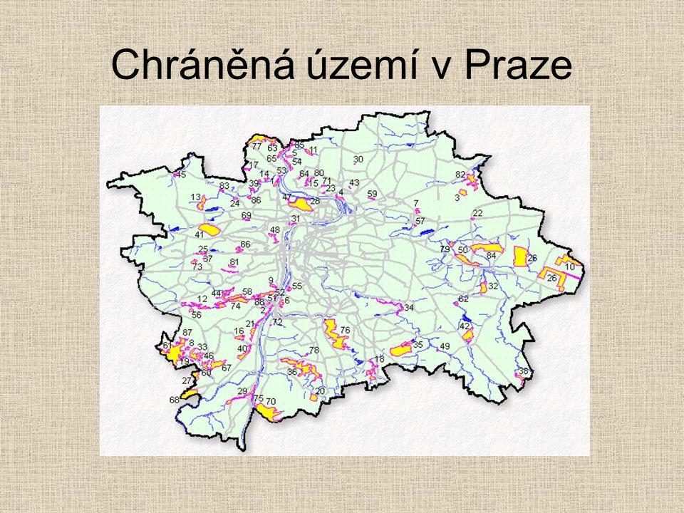 Chráněná území v Praze