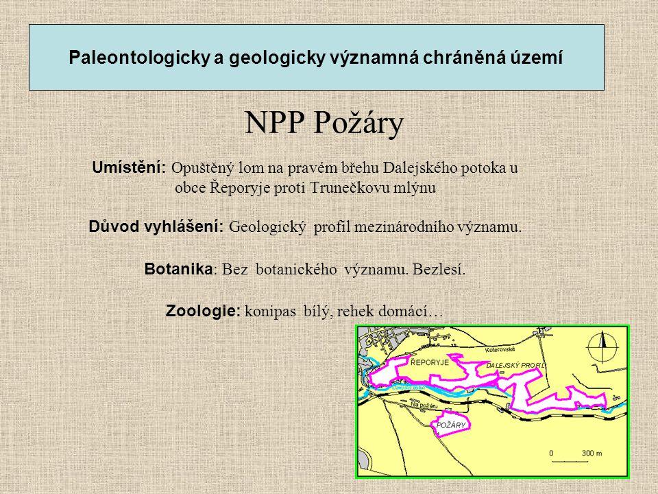 Paleontologicky a geologicky významná chráněná území