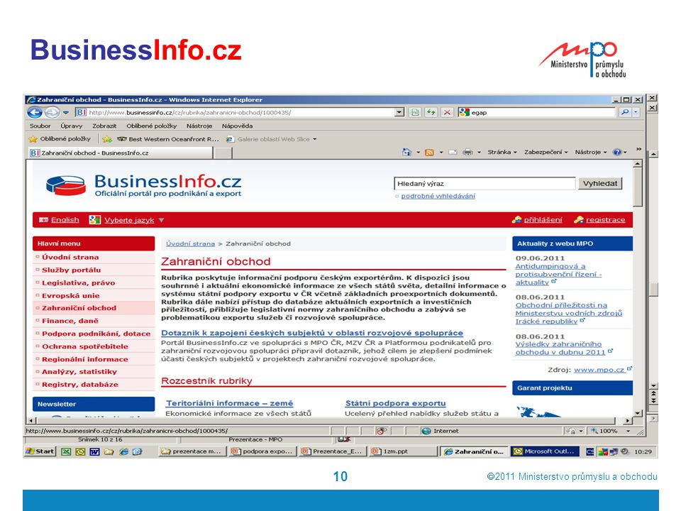 BusinessInfo.cz