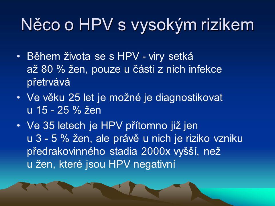 Něco o HPV s vysokým rizikem