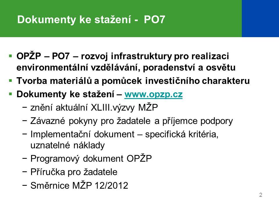 Dokumenty ke stažení - PO7
