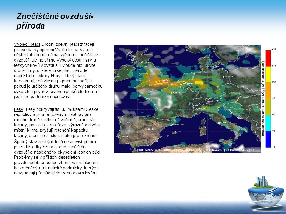 Znečištěné ovzduší-příroda