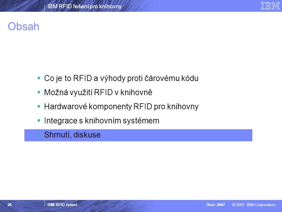 Obsah Co je to RFID a výhody proti čárovému kódu