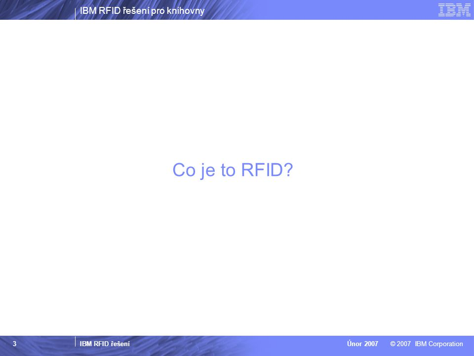 Co je to RFID