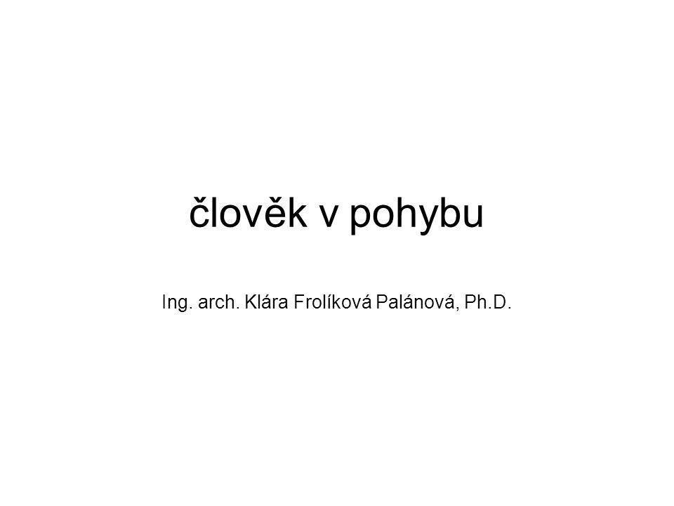 Ing. arch. Klára Frolíková Palánová, Ph.D.