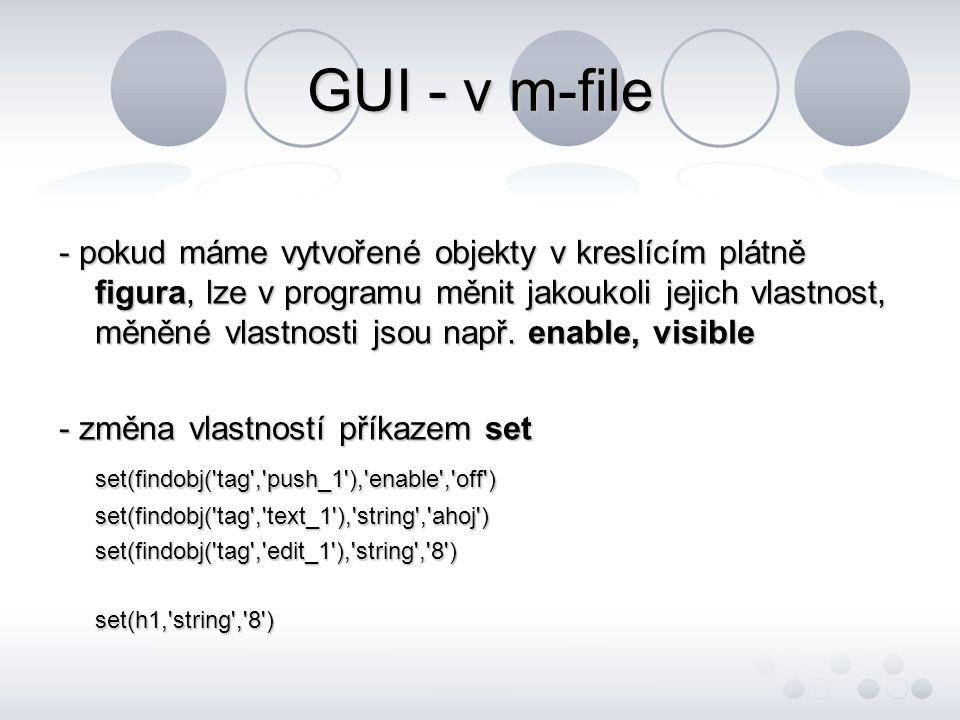 GUI - v m-file