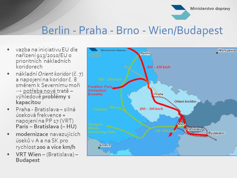 Berlin - Praha - Brno - Wien/Budapest