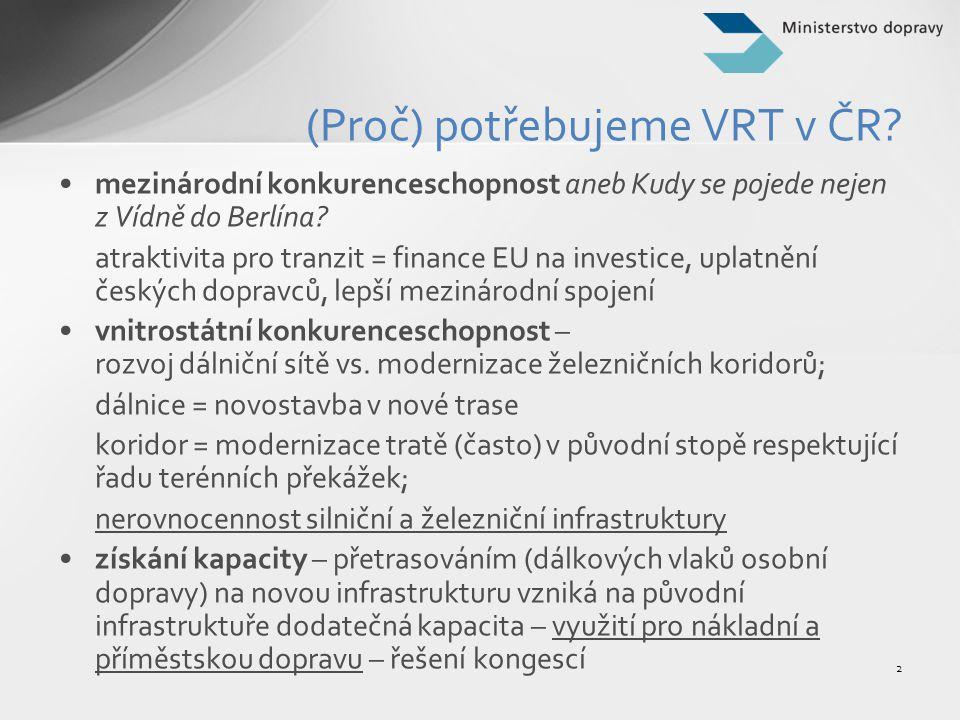 (Proč) potřebujeme VRT v ČR