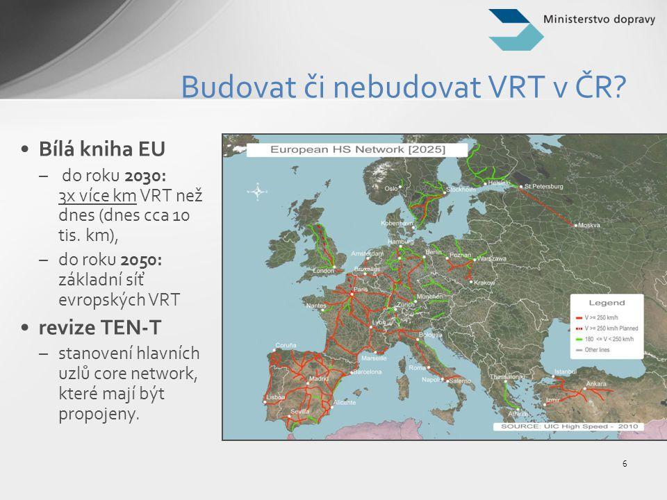 Budovat či nebudovat VRT v ČR