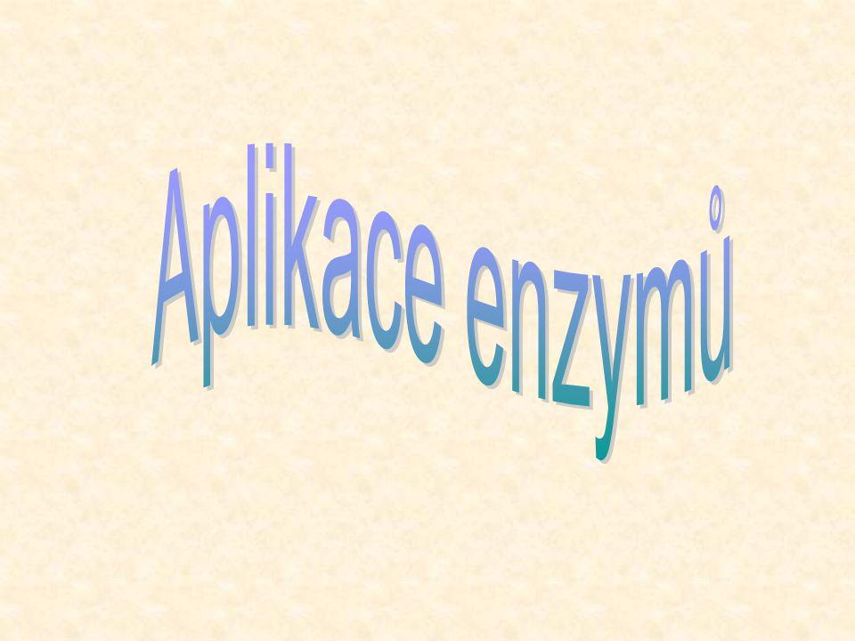 Aplikace enzymů