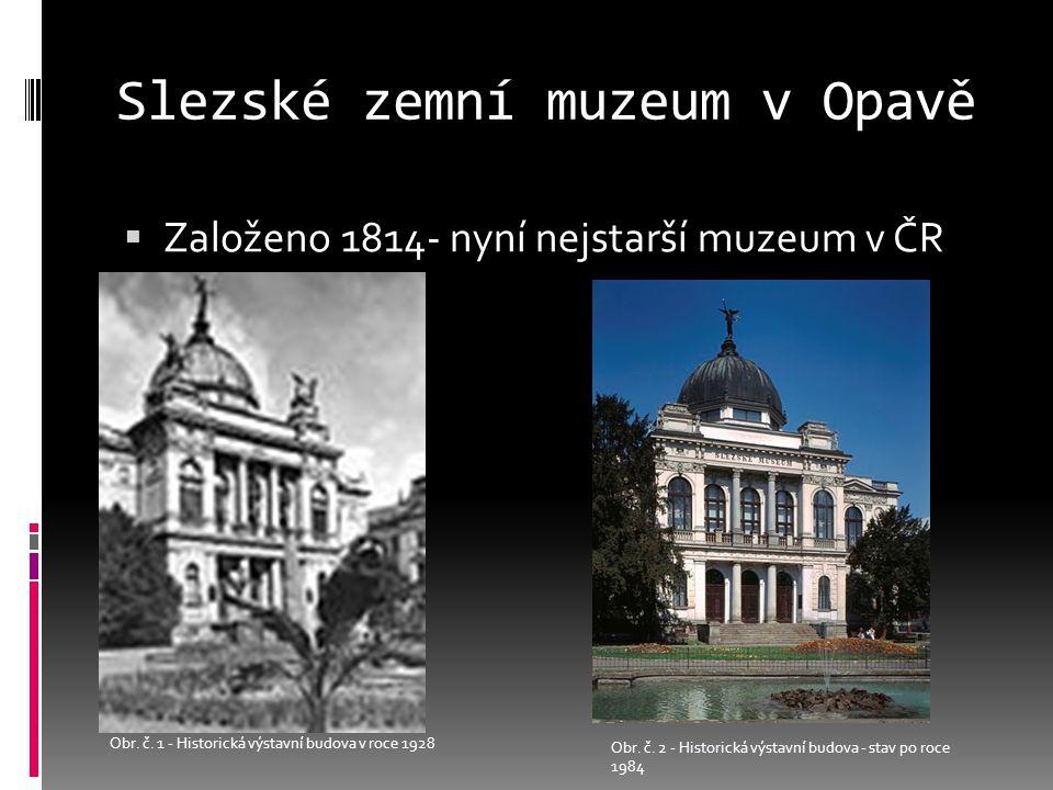 Slezské zemní muzeum v Opavě