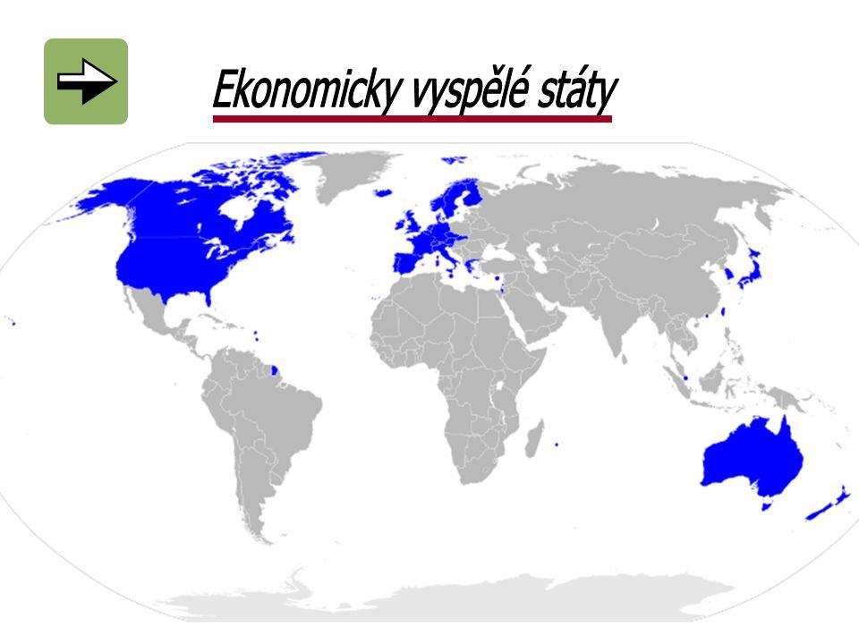 Ekonomicky vyspělé státy