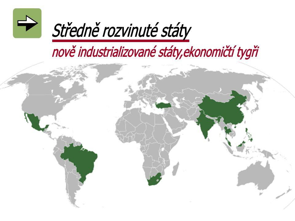 Středně rozvinuté státy