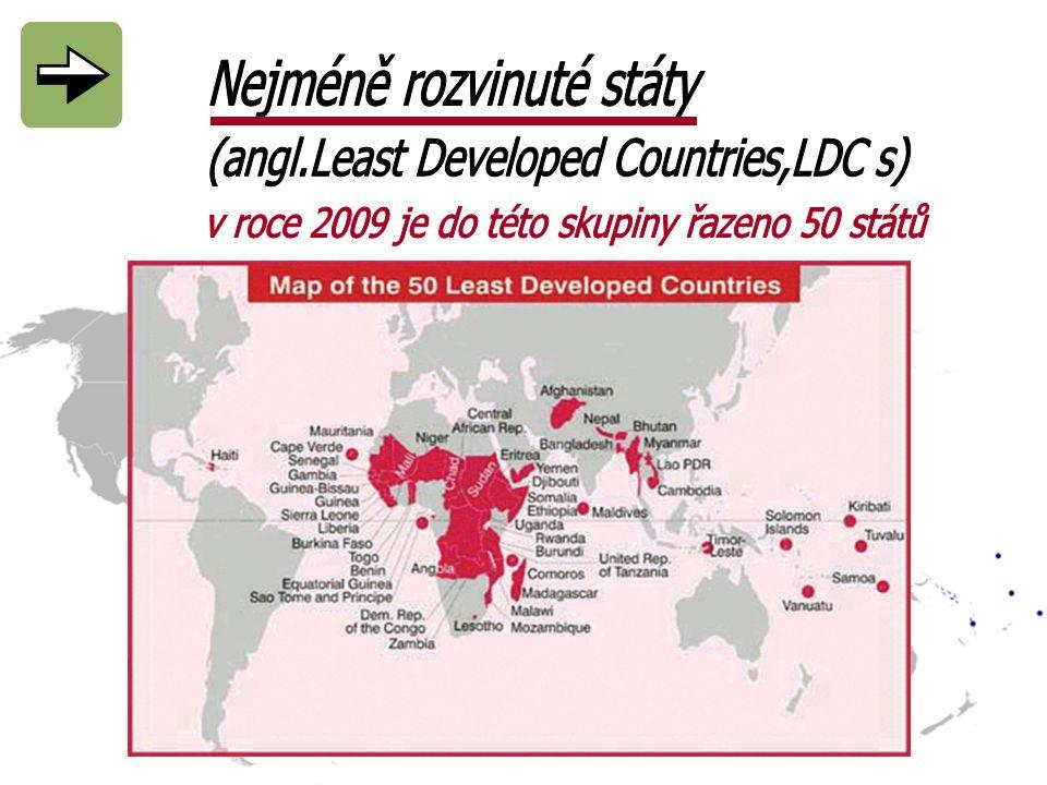 Nejméně rozvinuté státy