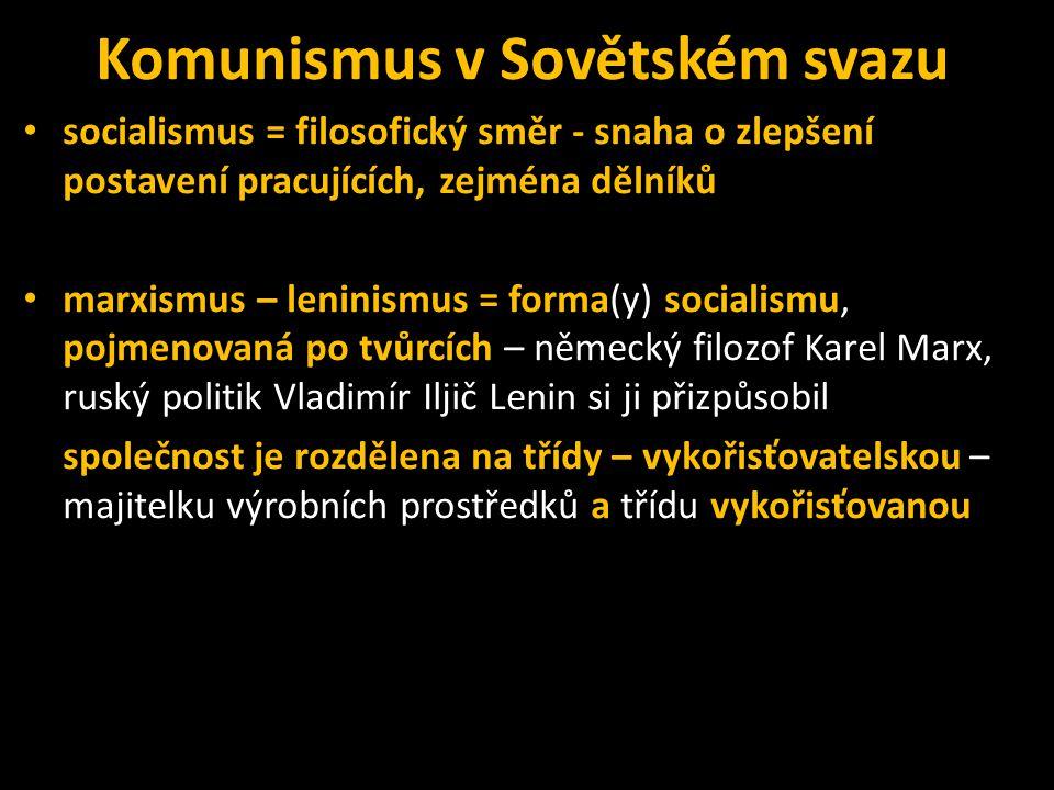 Komunismus v Sovětském svazu