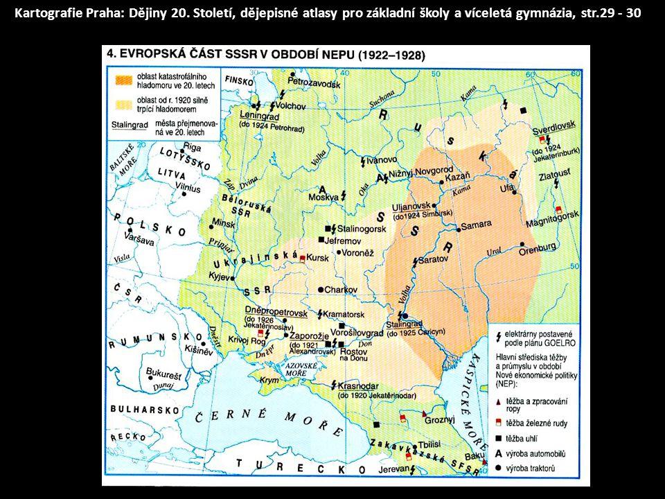 Kartografie Praha: Dějiny 20
