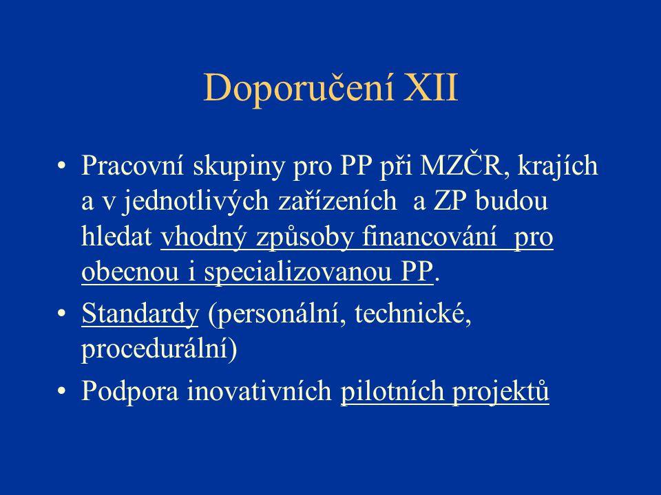 Doporučení XII
