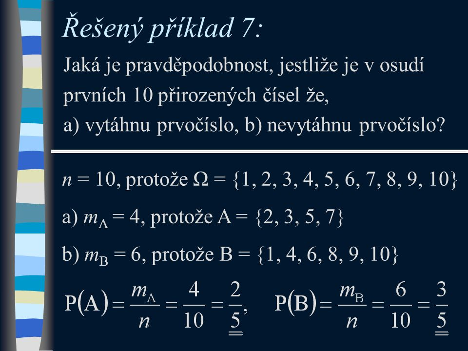 Řešený příklad 7: