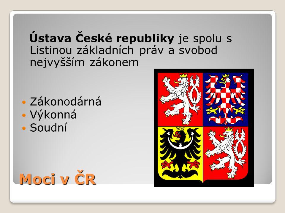 Ústava České republiky je spolu s Listinou základních práv a svobod nejvyšším zákonem