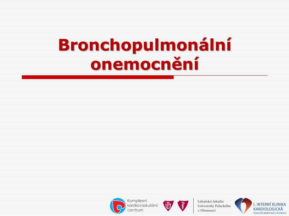 Bronchopulmonální onemocnění