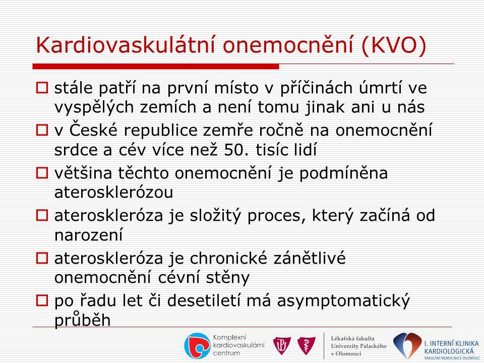 Kardiovaskulátní onemocnění (KVO)
