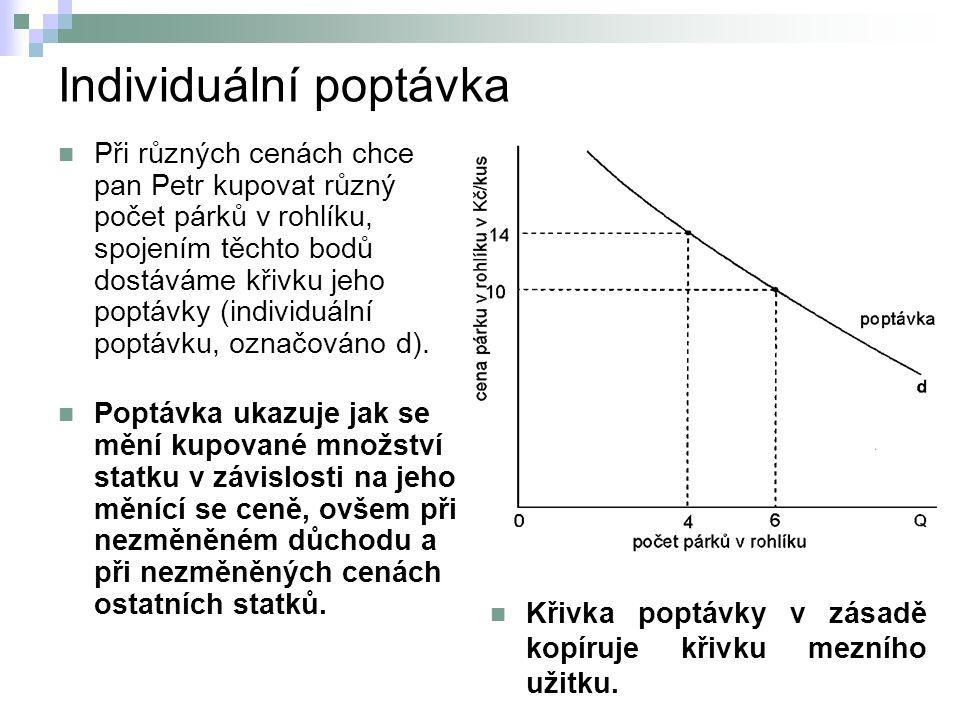 Individuální poptávka