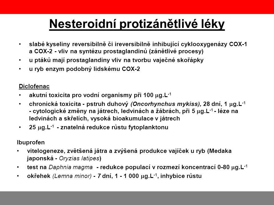 Nesteroidní protizánětlivé léky