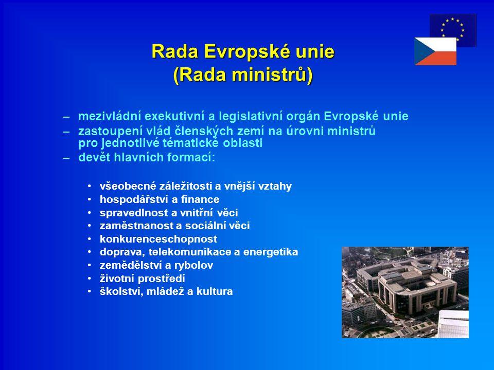 Rada Evropské unie (Rada ministrů)