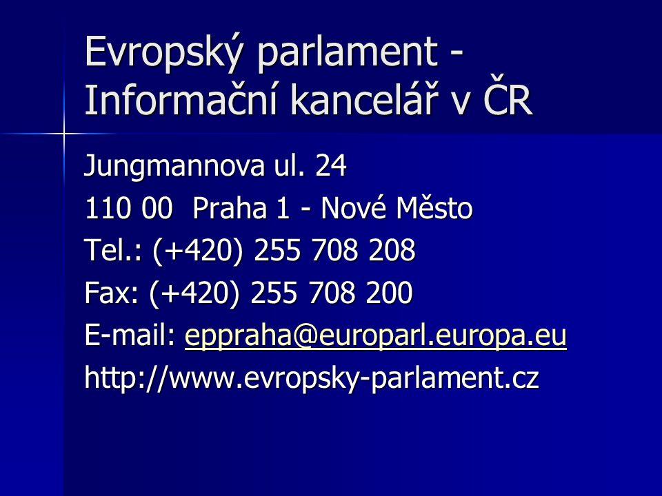 Evropský parlament - Informační kancelář v ČR