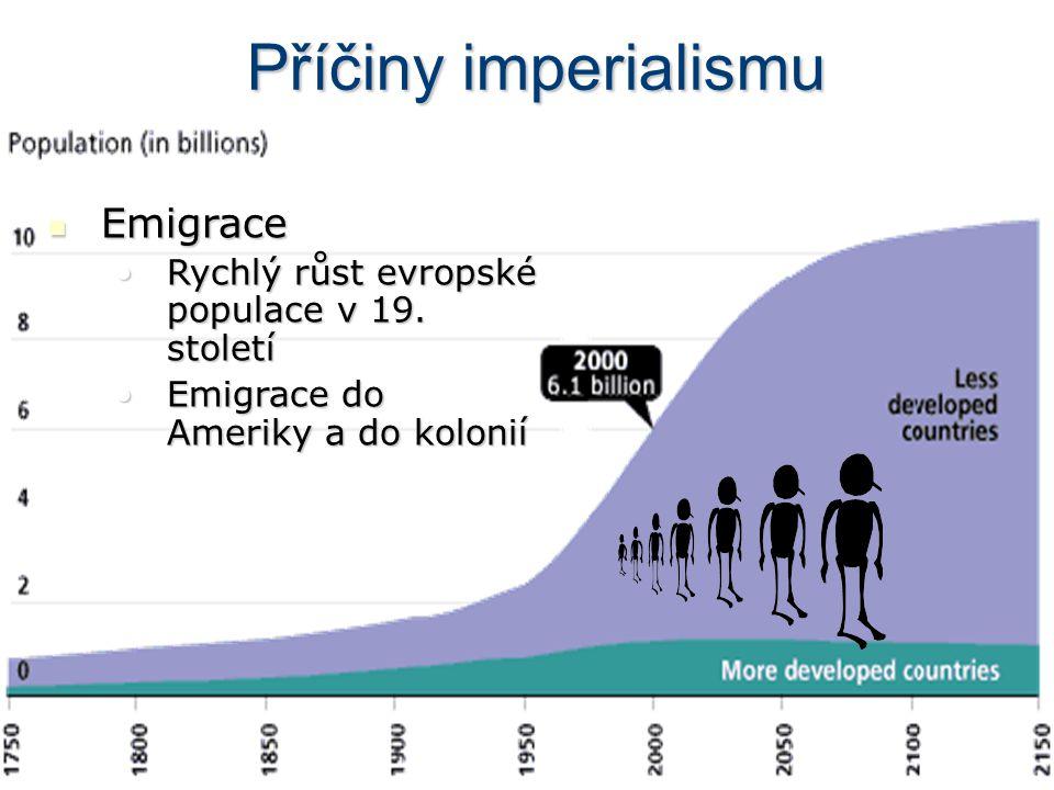 Příčiny imperialismu Emigrace
