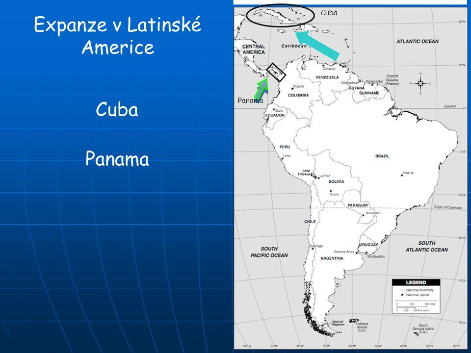 Expanze v Latinské Americe