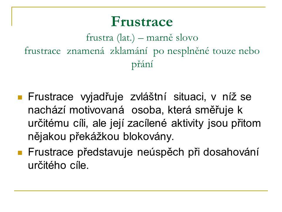Frustrace frustra (lat