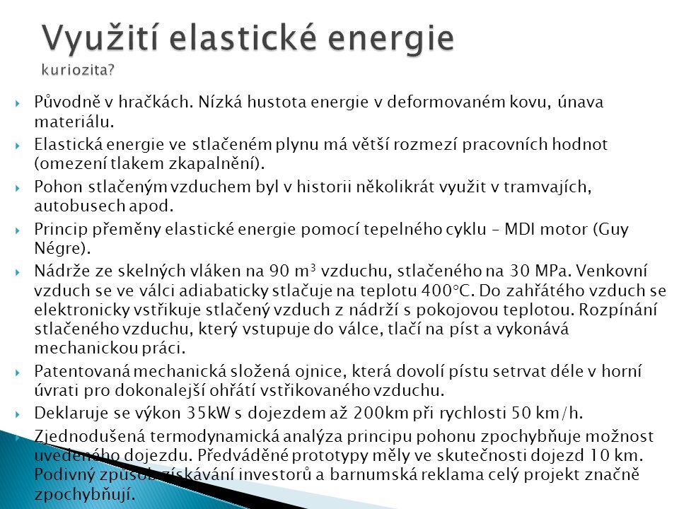 Využití elastické energie kuriozita
