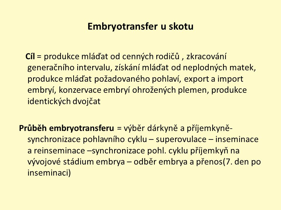 Embryotransfer u skotu