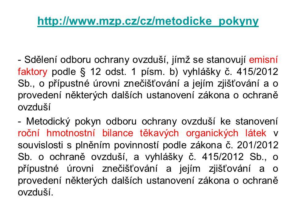 http://www.mzp.cz/cz/metodicke_pokyny