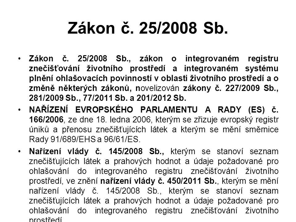 Zákon č. 25/2008 Sb.