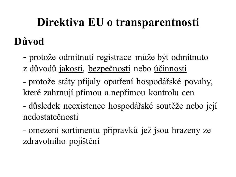 Direktiva EU o transparentnosti