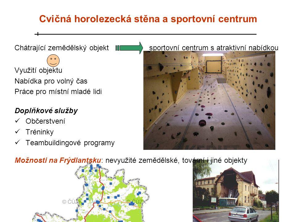 Cvičná horolezecká stěna a sportovní centrum