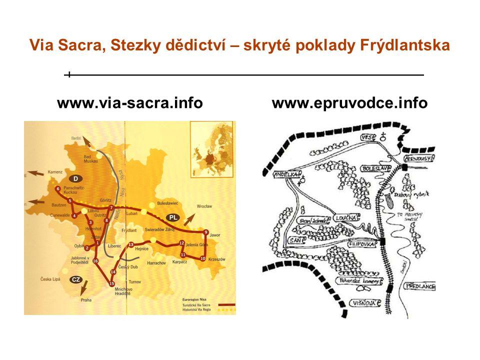Via Sacra, Stezky dědictví – skryté poklady Frýdlantska
