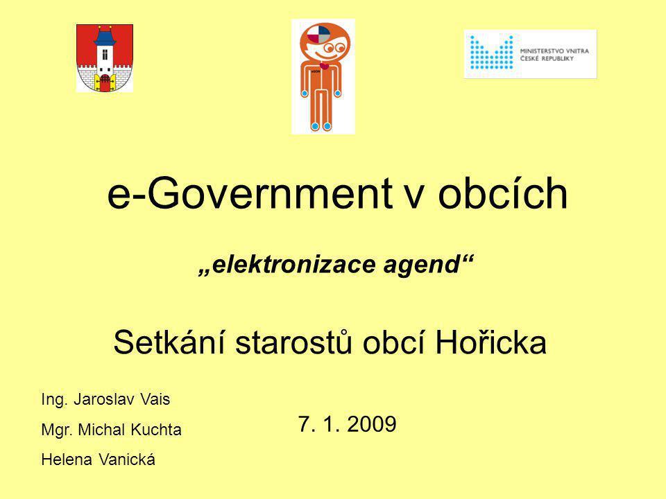 Setkání starostů obcí Hořicka