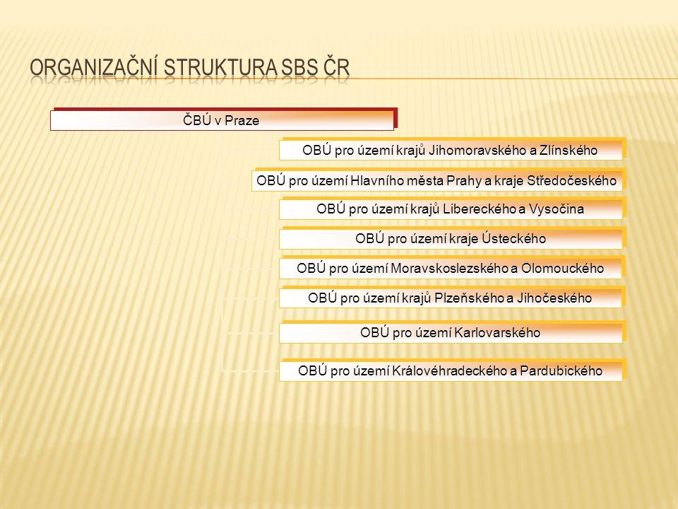 Organizační struktura SBS ČR