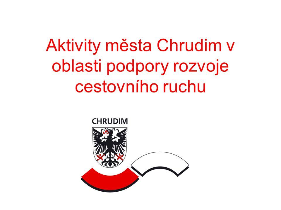 Aktivity města Chrudim v oblasti podpory rozvoje cestovního ruchu